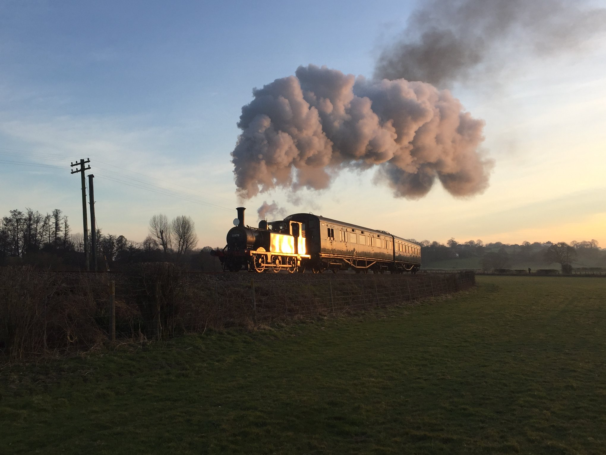 32678 photo charter Orpins sunset 22 Feb 19 Andrew Hardy