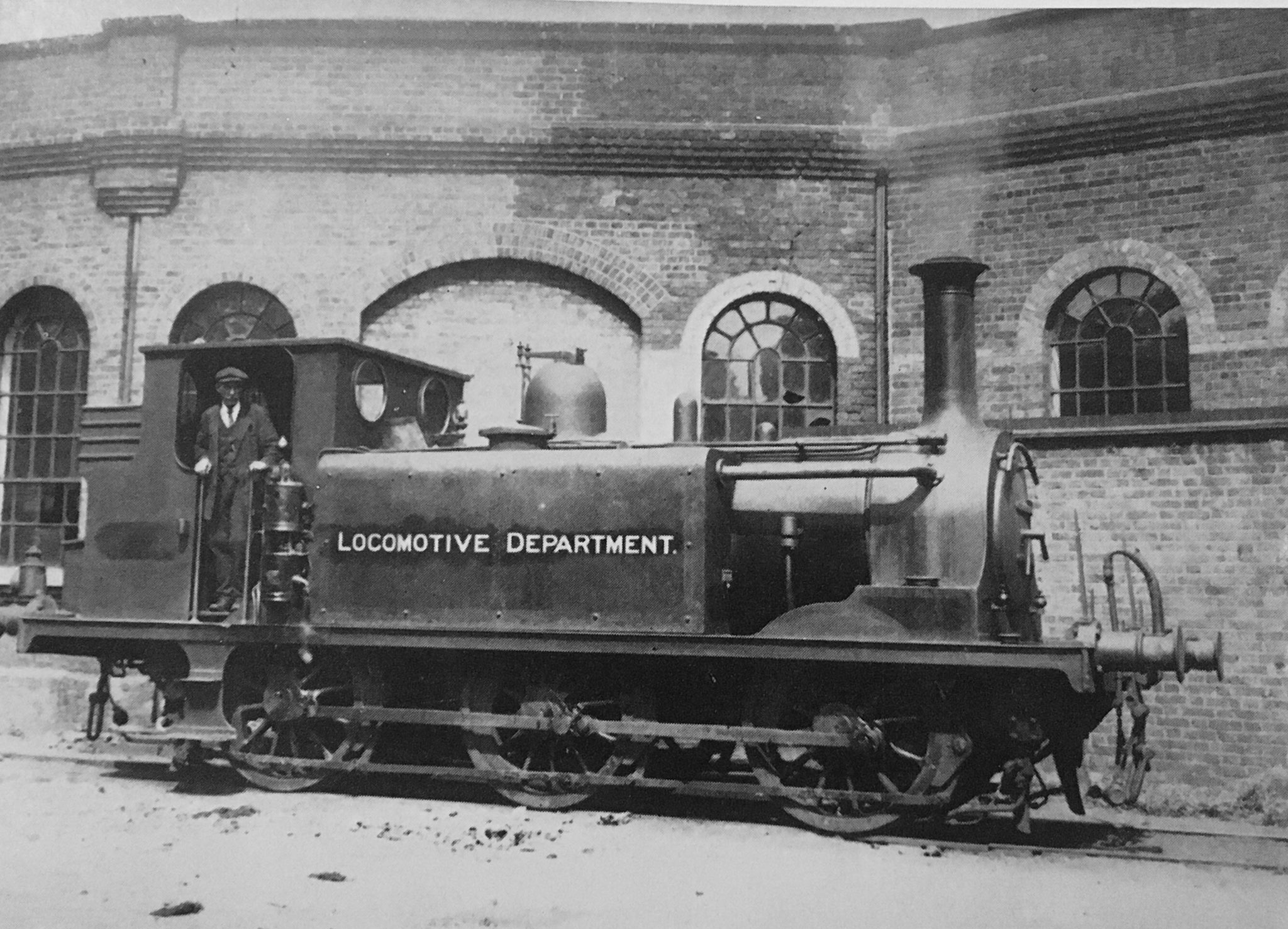 42 Tulsehill lettered Locomotive Department